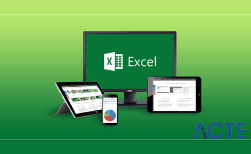 advance ms excel acte