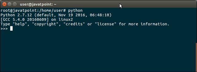 verifying python.